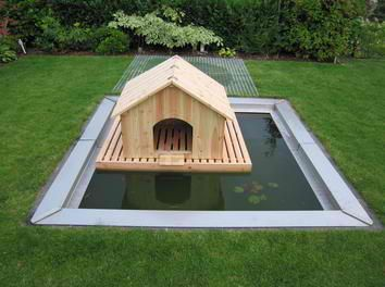 Floating Duck House | 12 Duck Coop Ideas For Your Homestead