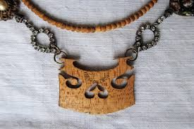 Image result for violin bridge necklace