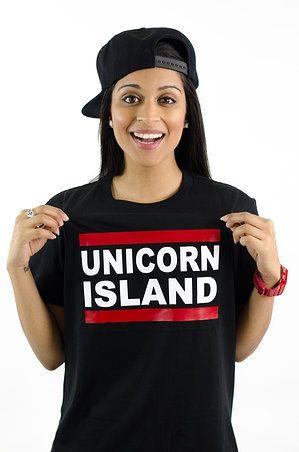 Unicorn Island   T-Shirts  It's Superwoman! Aka Lilly Singh!