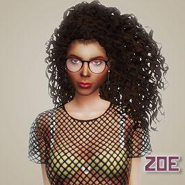 Sims 4 CC's - The Best: Hair Recolors by Meraki