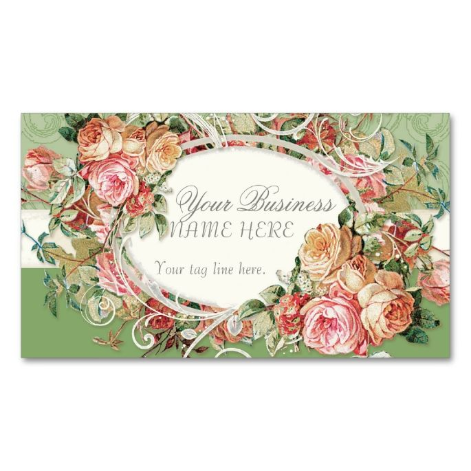 2198 best floral business card templates images on