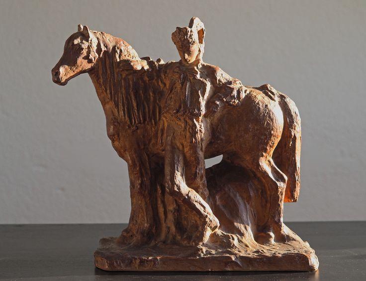 Antonín Kalvoda: Na tarmaku (Horse market)