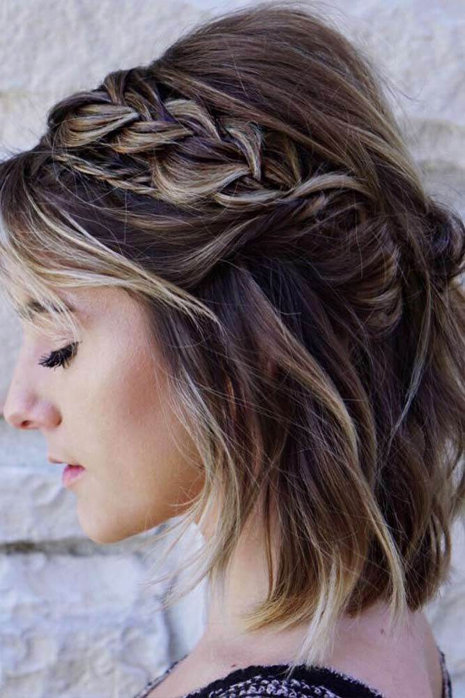 Exceptional Winter Hairstyles Every Stylish Lady Should Be Aware Of Braids For Short Hair Winter Hairstyles Hair Styles
