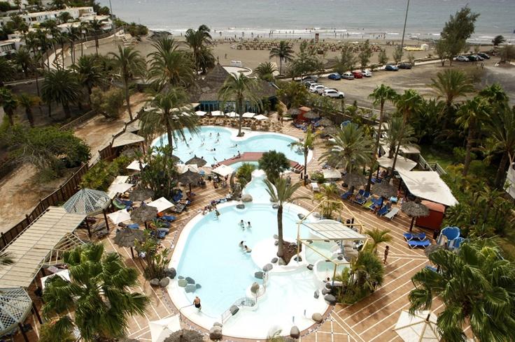IFA Beach aerial view