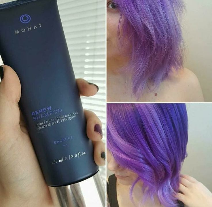 Monat even works with color treated hair!! Look at that ...