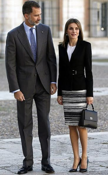 On November 07, 2016, King Felipe VI and Queen Letizia of Spain attended the International symposium of Carlos III in Aranjuez, Spain. The symposium runs until 11 November within the framework of events marking the 300th anniversary of the birth of Spanish King Carlos III.