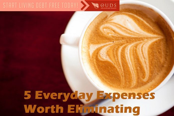 5 Everyday Expenses worth Eliminating, from buying coffee on the way to the office to paying for hundreds of unwatched television channels, it's not hard to throw money out the window. As insignificant as these purchases may seem, taken together, they put a huge dent in your wallet.    Fortunately, getting into better financial shape doesn't always