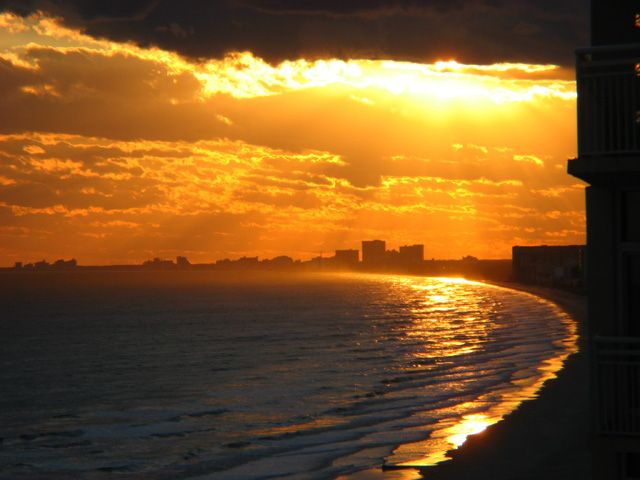 Sunset North Myrtle Beach SC By Suemc Photo
