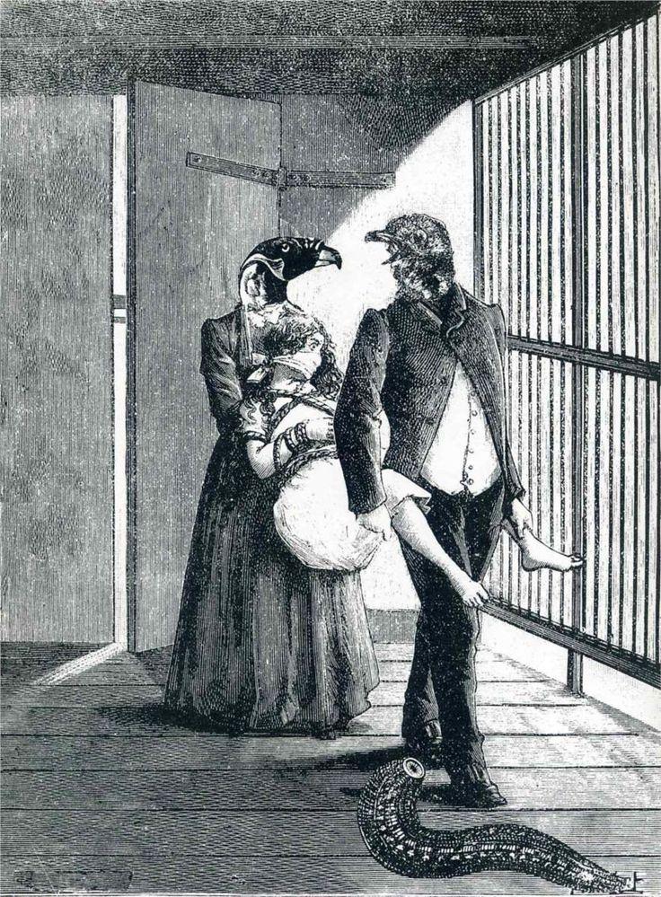 Max Ernst - Une Semaine de Bonté [Dimanche] (c.1934)      collage / illustration