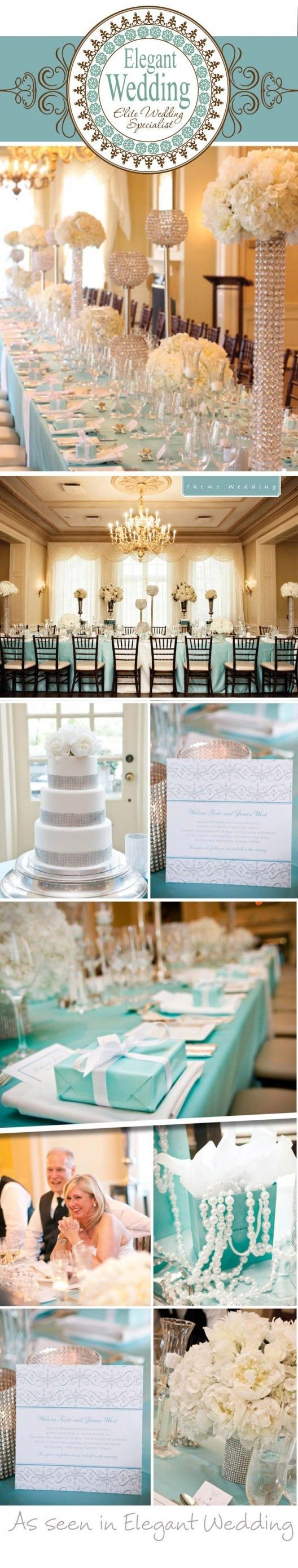 Tiffany blue wedding details