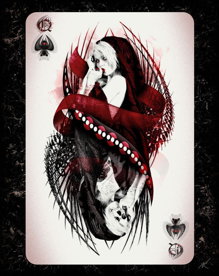 Queen of Spades (Queen Series) by SDCHAKQJ10 on DeviantArt