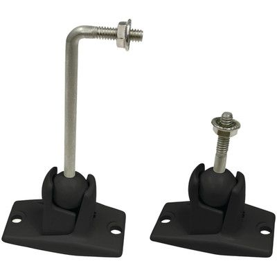 OmniMount Wall/Ceiling Speaker Mounting Kit - 10 lb. max weight Color: Black