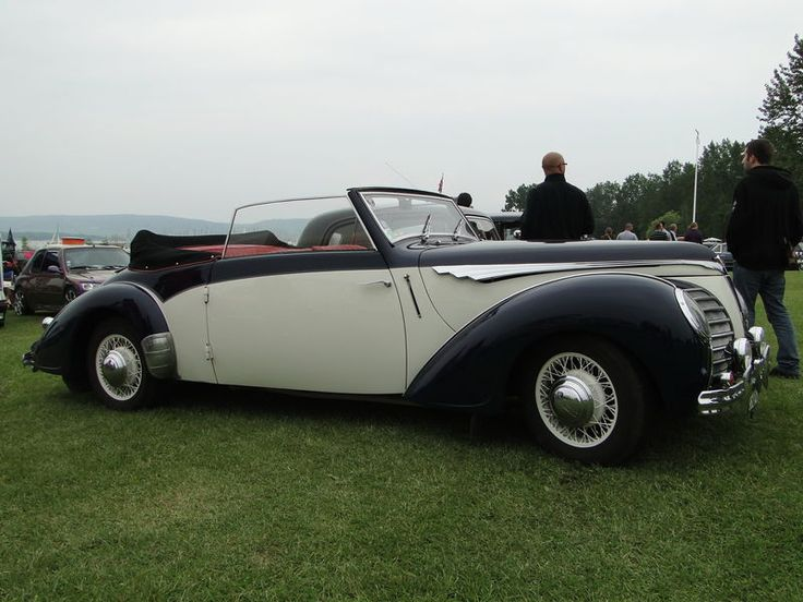 ROSENGART LR539 Supertraction Cabriolet 1939 Retro meus Auto Lac de Madine 2010 5
