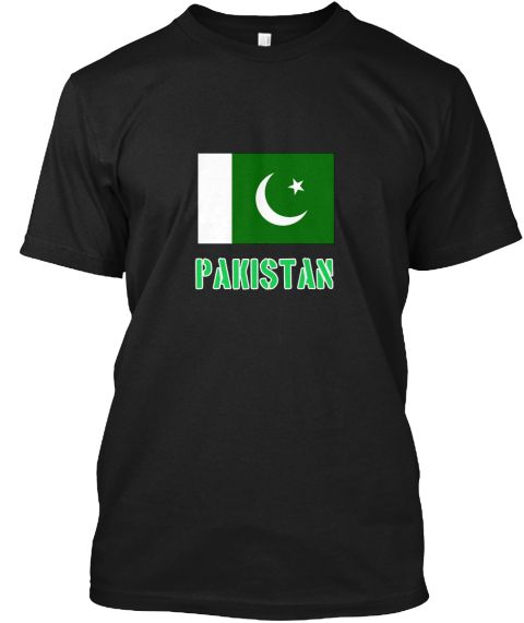 Pakistan Flag Stencil Green Design Black T-Shirt Front - This is the perfect gift for someone who loves Pakistan. Thank you for visiting my page (Related terms: I Heart Pakistan,Pakistan,Pakistani,Pakistan Travel,I Love My Country,Pakistan Flag, Pakistan Map,Pa #Pakistan, #Pakistanshirts...)