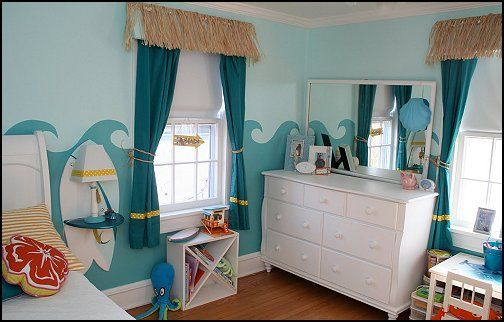 Decorating theme bedrooms - Maries Manor: beach theme bedrooms - surfer girls - surfer boys - coastal living style