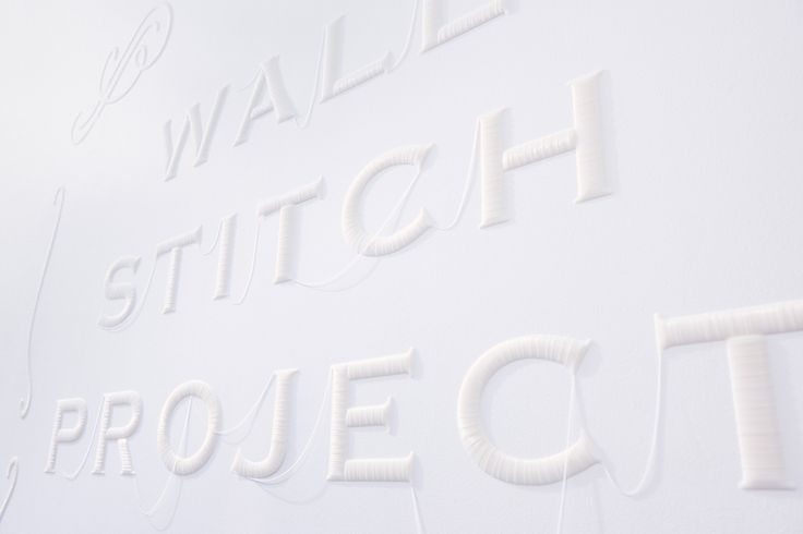 WALL STITCH Project by YOY & K's Design Lab | Yellowtrace