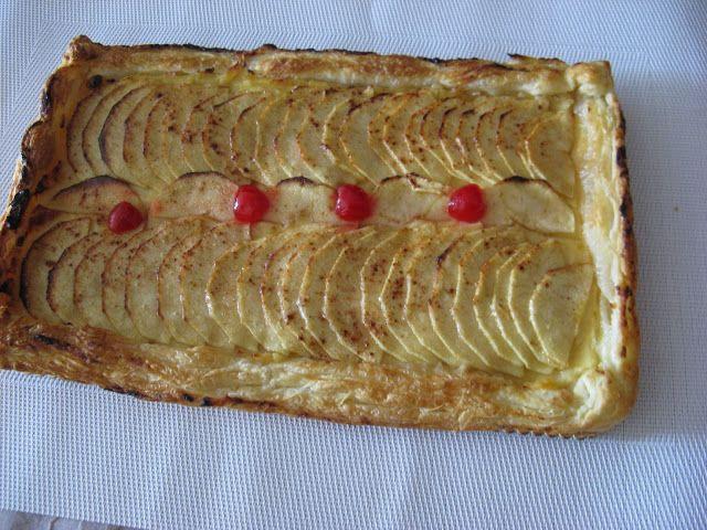 Quima les meves receptes tarta de poma amb crema - Bollycao thermomix ...