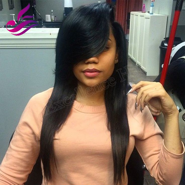 17 best ideas about sew in with bangs on pinterest