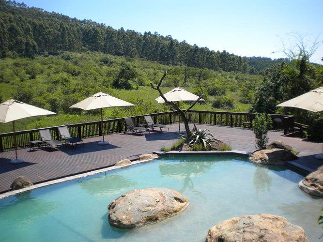 'n Pragtige uitsig by iNsingizi Lodge: http://www.lekkeslaap.co.za/akkommodasie/insingizi-lodge