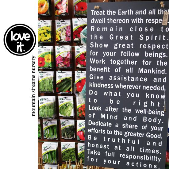 The 10 Indian Commandments • made by our friend Hello Ruth Designs