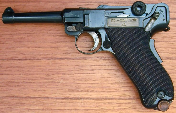 KNIL Luger pistool m.11