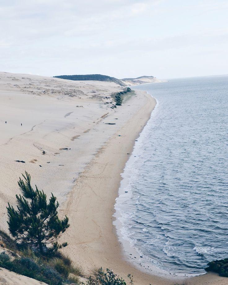 • D U N E • La dune du Pilat ! #Travel #Voyage #DuneDuPilat #France #Bordeaux #Ocean