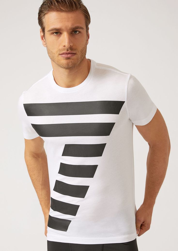 EMPORIO ARMANI T-SHIRTS - ITEM 12131030. #emporioarmani #cloth #