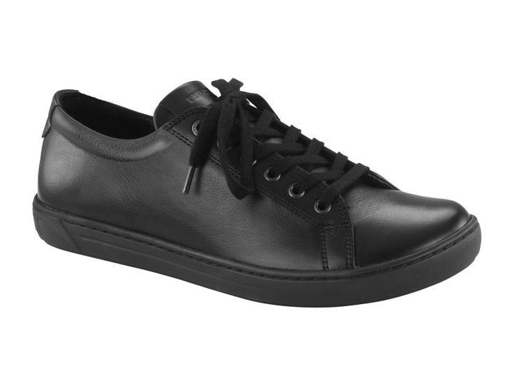 Birkenstock Arran Women's Natural Leather in Black (Birkenstock Shoe Removable Footbed )