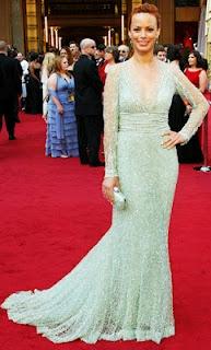 Berenice Bejo in Elie Saab at the Oscars: Mint Green, Elie Saab, Style, Dress, Bérénice Bejo, Red Carpet, 2012 Oscars