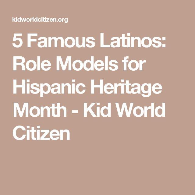 5 Famous Latinos For Kids Hispanic Heritage Month