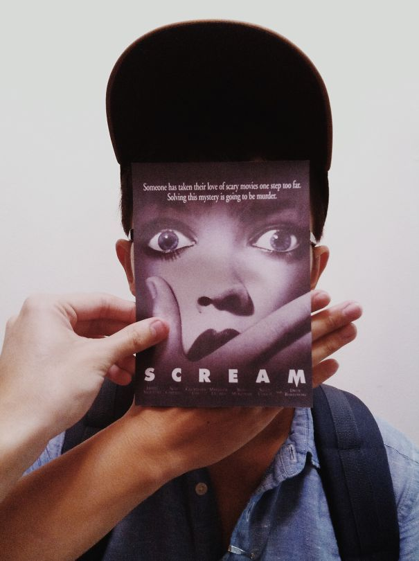 Guy Mashes Famous Movie Posters With Real People | Bored Panda