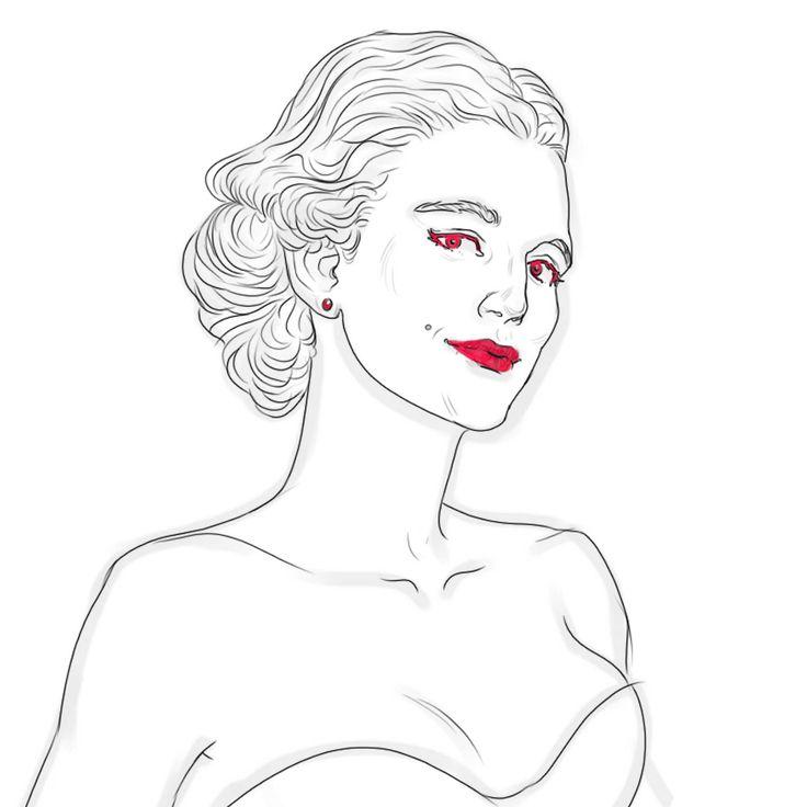 #sketch #art #illustration #digitalart #drawing #photoshop #dame #lineart #woman