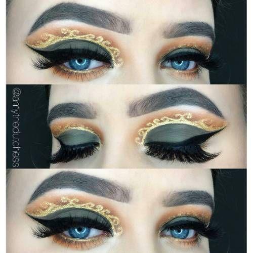 89b916adce86a Eye Makeup Looks. Eye Makeup Ideas. Eye Makeup Inspirations. Best Eye  Makeup Inspirations