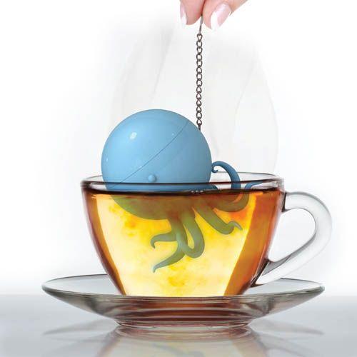 Boule à thé pieuvre - 7,90€