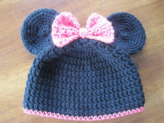 31 best Crochet - Hats - Mickey & Minnie images on Pinterest ...