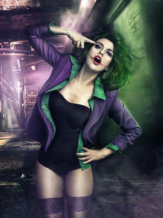 The Joker cosplay crossplay