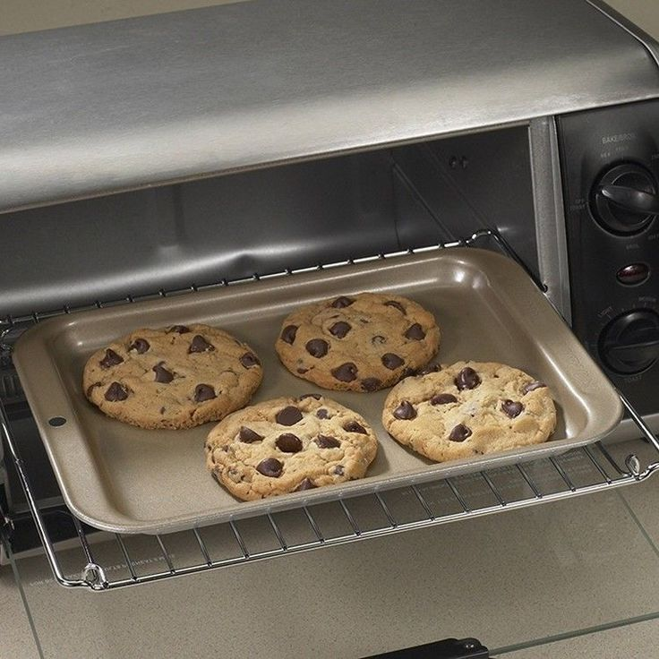 Toaster Oven Pan Non Stick Baking Oven Cookie Kitchen Cake Tray 8.5 x 6.5 Inches #PerfectHomeSavings