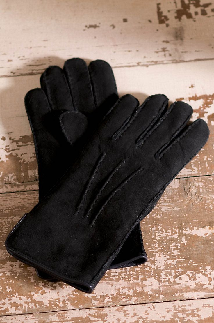 Women's Sheepskin Gloves with Vents by Overland Sheepskin Co. (style 73507)
