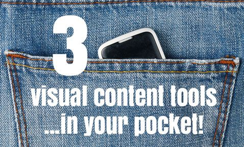 3 Mobile Apps that Put Visual Content Creation in Your Pocket http://sociallysorted.com.au/3-apps-visual-content-creation/
