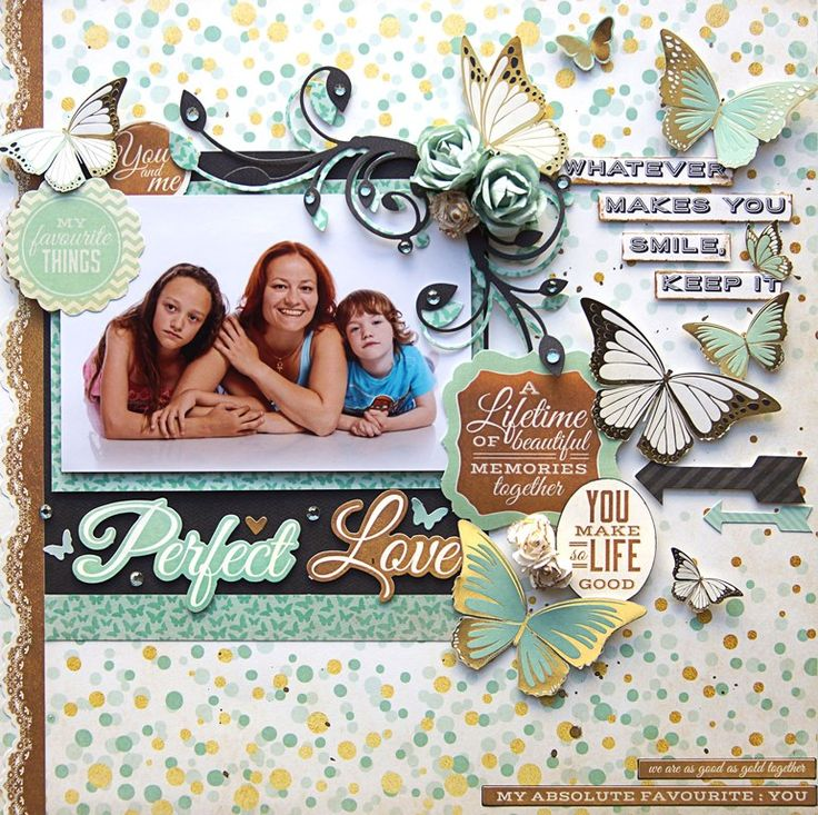 """<p>Hello there! It's Emmy here. Today I would like to share my newest layout created with """"All That Glitters""""collection from Kaisercraft! The complete set isavailable at Merly Impressions' online store. This week I decided to go all mint, gold and black. You won't find even one pink butterfly on my <a href="""" http://www.merlyimpressions.co.uk/blog/project-portfolio/scrapbooking/perfect-love-with-all-that-glitters/ """"> …click to read more</a></p>"""