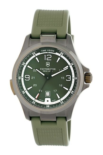Image of Victorinox Swiss Army Men's Night Vision Rubber Watch