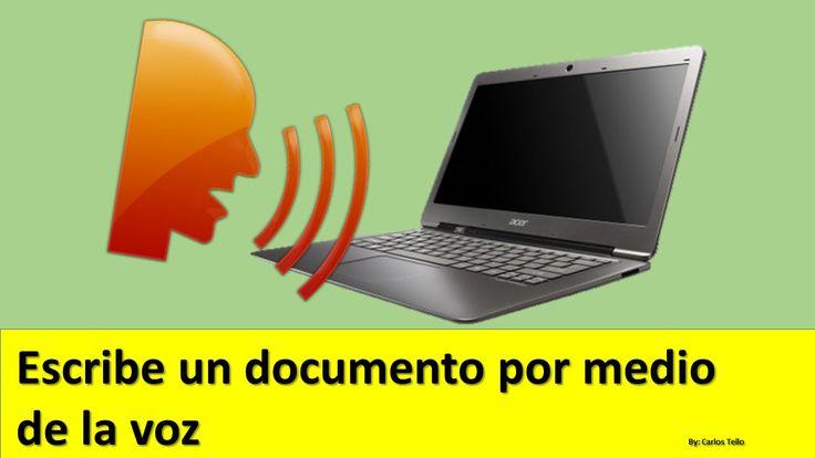 Escribir un documento por voz