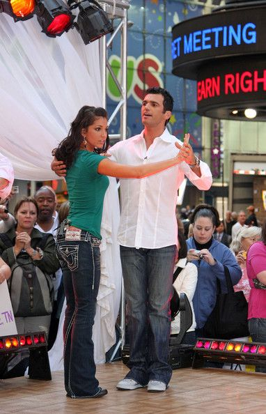 "Melissa Rycroft ""Dancing With the Stars"" in the morning"