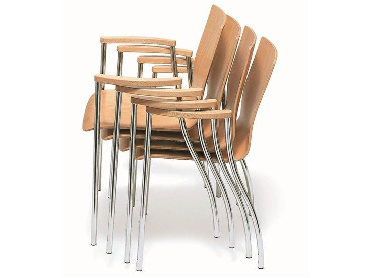 KIZZ Chaise en bois by BENE design Christian Kreiner, Johannes Karl