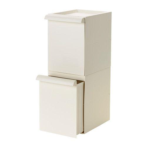 RETUR Behälter für Abfalltrennung IKEA Praktischer, flexibel einsatzfähiger Abfalltrennbehälter mit geringer Tiefe; ideal bei wenig Platz.MÜLLTRENNUNG 9,99