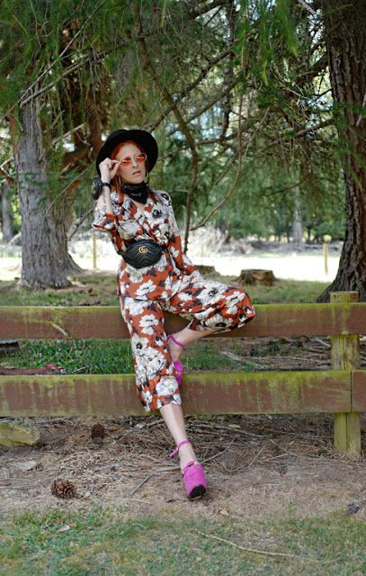 The wardrobe of Ms. B: I like pink & orange together