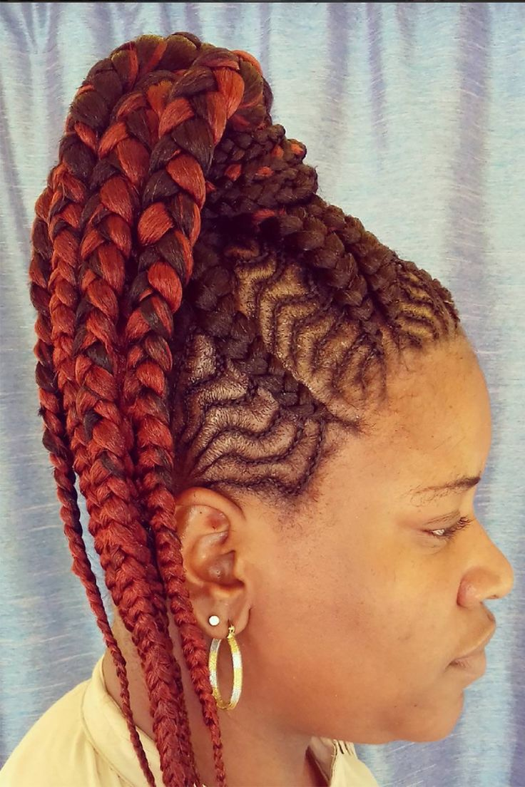 """We're all privy to the benefits of rocking a protective style. In short: it tucks away natural strands, making it easier to promote growth and prevent damage. There are endless ways to take on a protective style, but as of late, we've seen one look skyrocket in popularity. Most commonly known as """"goddess braids,"""" cornrows, a style we've all grown up wearing, have been updated into a slew of chic variations. Be it the alternating size of each individual braid or the direc..."""