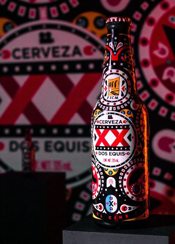 Dos Equis + FICM #cerveza #birra #beer #packaging #design
