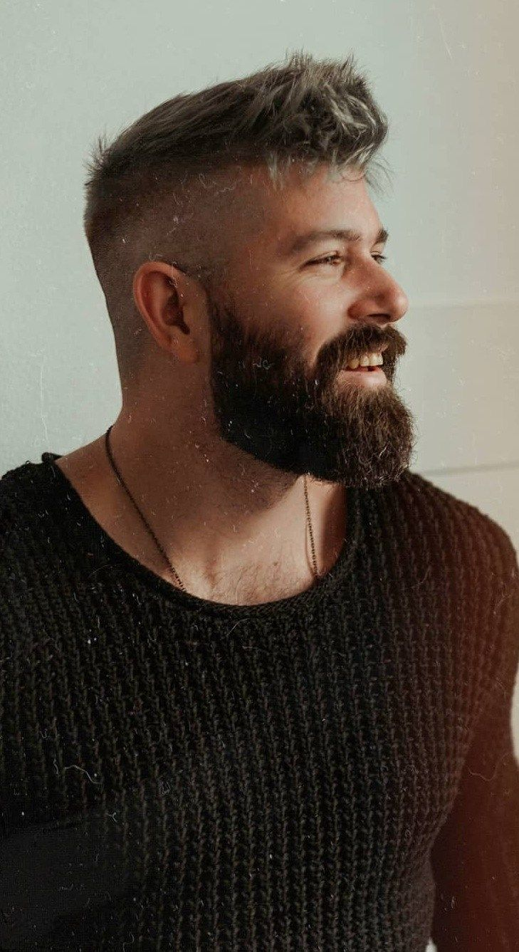 How To Grow Medium Beard Mens Hairstyles With Beard