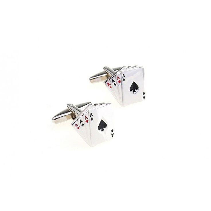 #Aces #cufflinks #cufflinkspalace